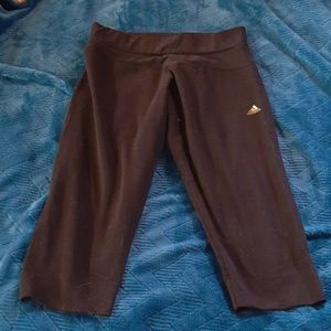 Now 2/$20 Adidas Knee Length Workout Pants